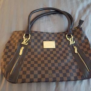 Louis Vuitton brown bag